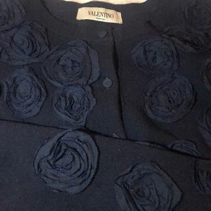 Valentino Cashmere, Wool & Silk Cardigan